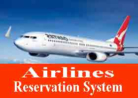 103 - Airline Reservation System VB Project