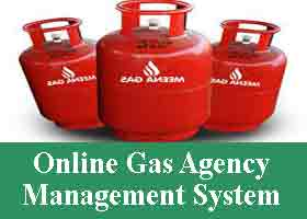 Online Gas Agency Management System Project
