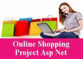 Online Shopping Project Asp Net