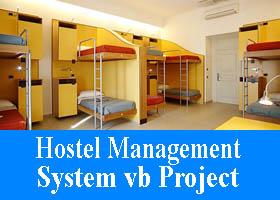 Hostel Management System vb Project