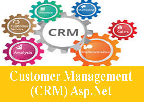 Customer Management (CRM) Asp Net Project Source Code