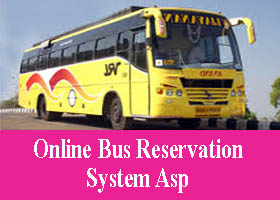 Online Bus Reservation System Asp Project