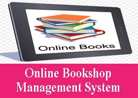 Online Bookshop Management System Project Asp Net