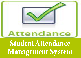 Student Attendance Management System Project Asp