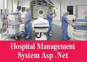 Project on Hospital Management System Asp Net