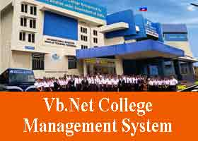 Vb Net College Management System Project