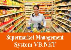 Supermarket Management System VB NET Project Code