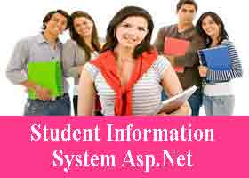 Project on Student Information System Asp Net